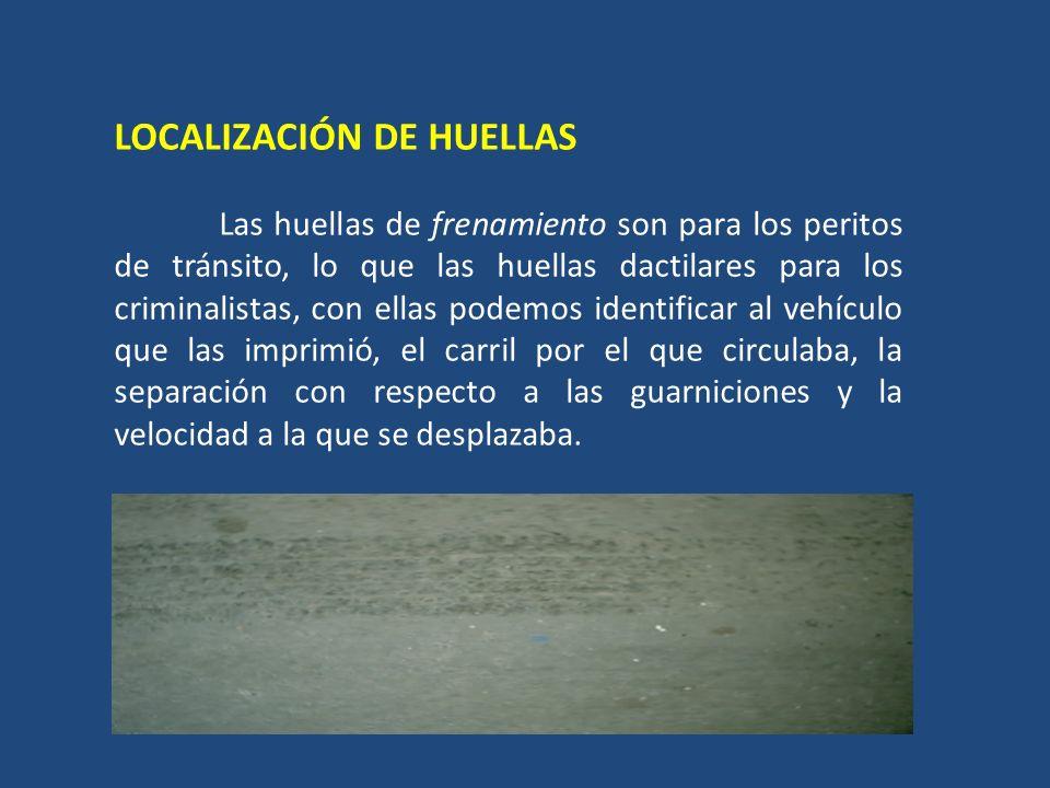 LOCALIZACIÓN DE HUELLAS