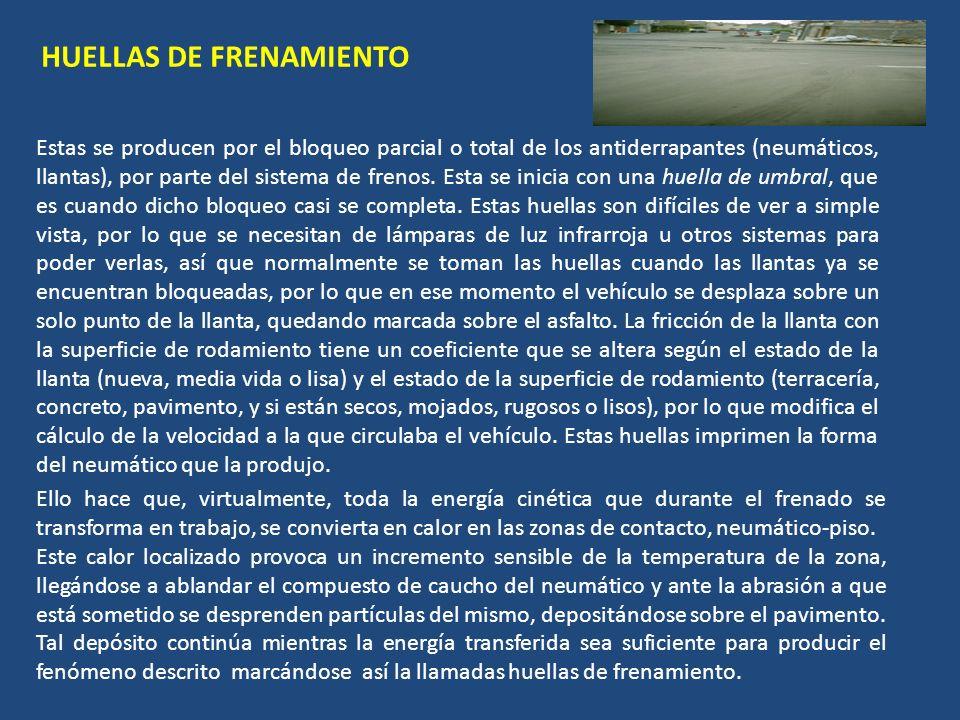 HUELLAS DE FRENAMIENTO