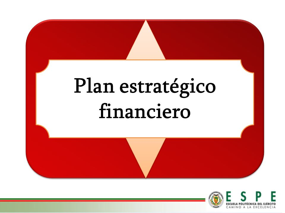 Plan estratégico financiero