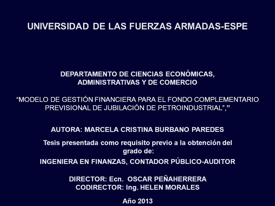 UNIVERSIDAD DE LAS FUERZAS ARMADAS-ESPE