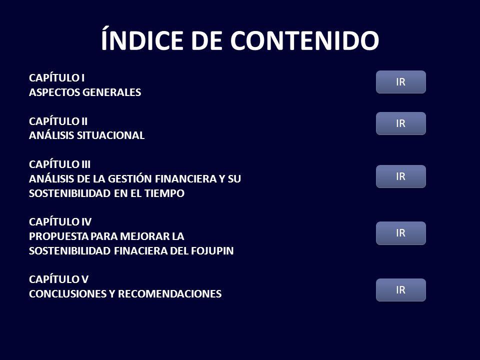 ÍNDICE DE CONTENIDO