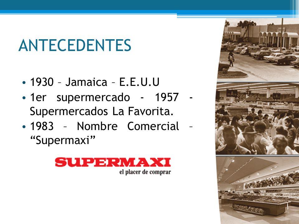 ANTECEDENTES 1930 – Jamaica – E.E.U.U
