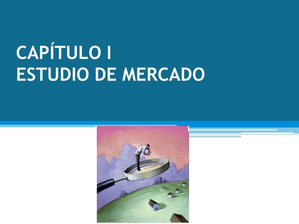 CAPÍTULO I ESTUDIO DE MERCADO