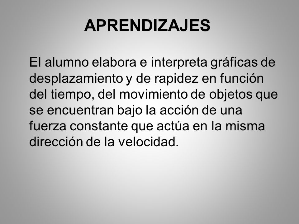 APRENDIZAJES