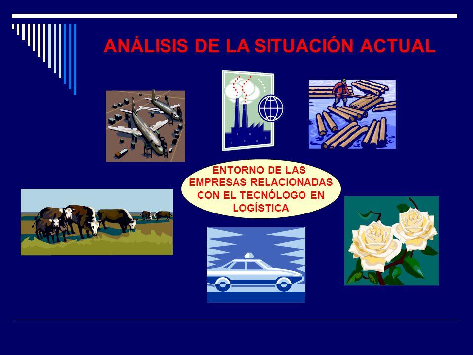 ANÁLISIS DE LA SITUACIÓN ACTUAL EMPRESAS RELACIONADAS