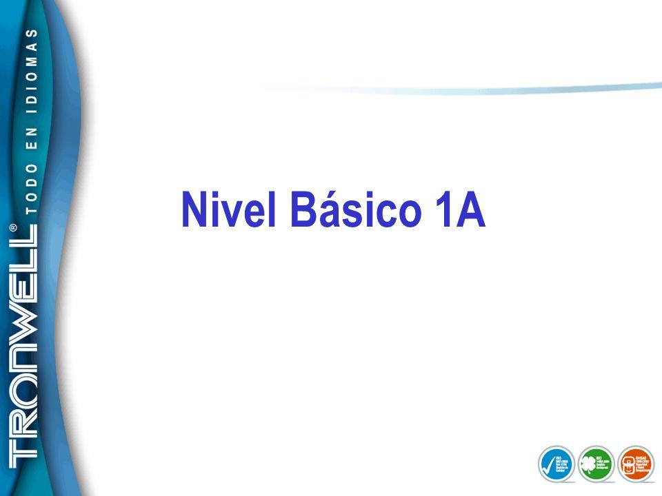 Nivel Básico 1A