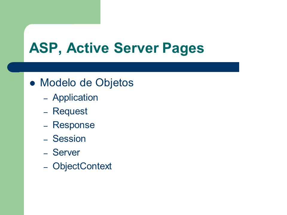 ASP, Active Server Pages