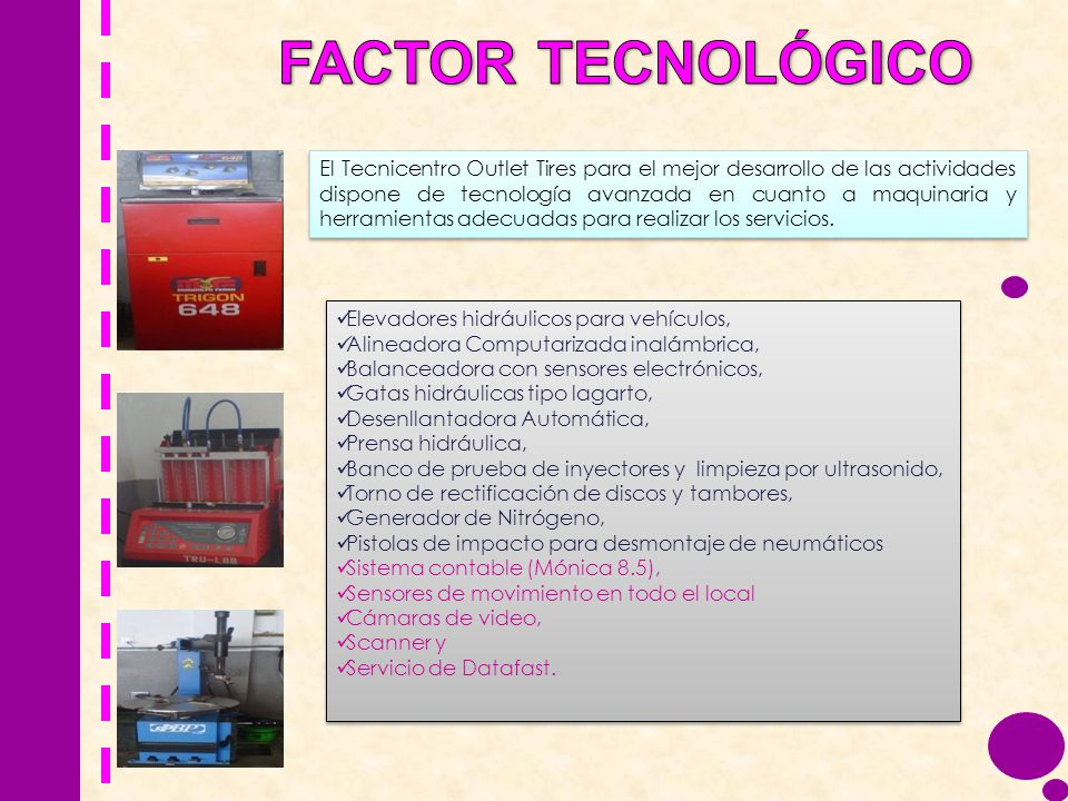 FACTOR TECNOLÓGICO