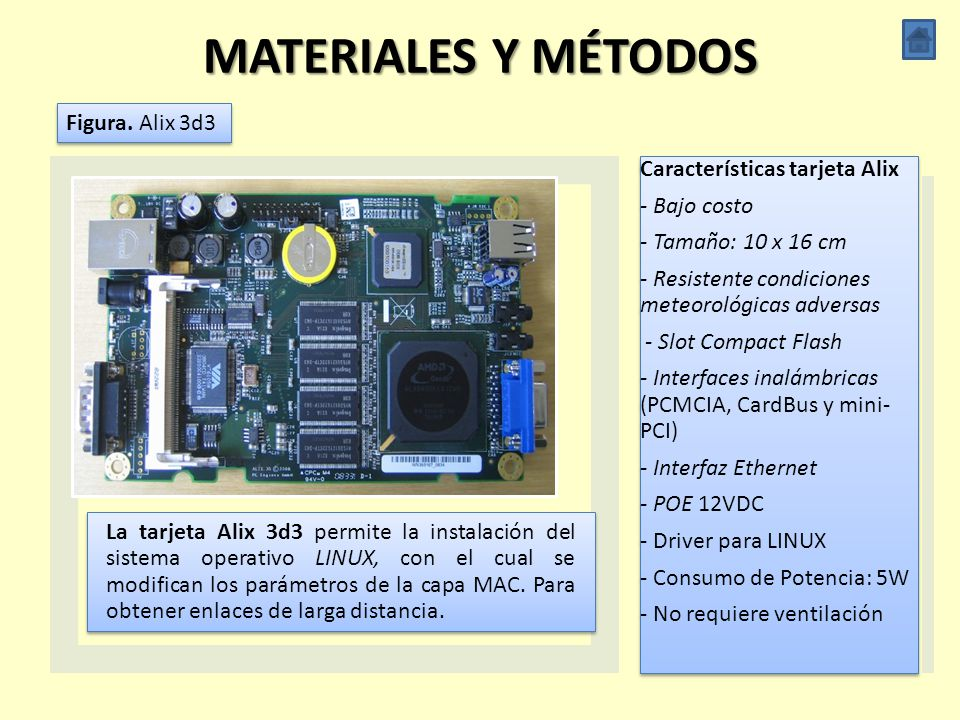 MATERIALES Y MÉTODOS Figura. Alix 3d3