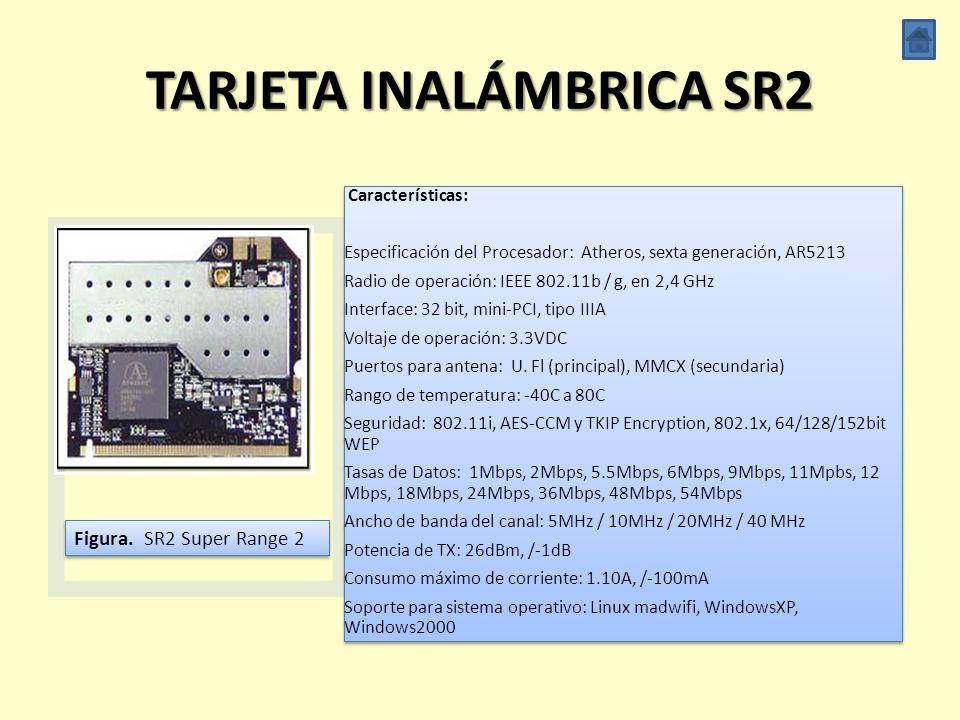 TARJETA INALÁMBRICA SR2