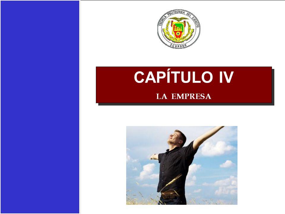 CAPÍTULO IV LA EMPRESA