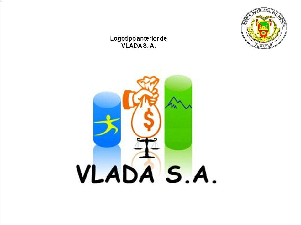 Logotipo anterior de VLADA S. A.