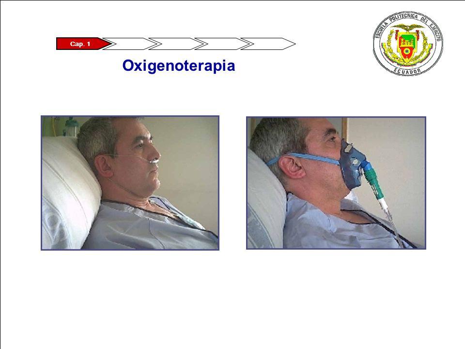 Cap. 1 Oxigenoterapia
