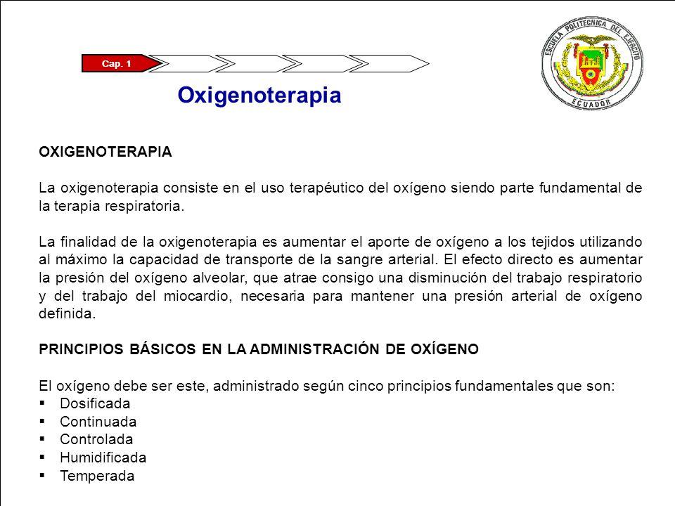 Oxigenoterapia OXIGENOTERAPIA