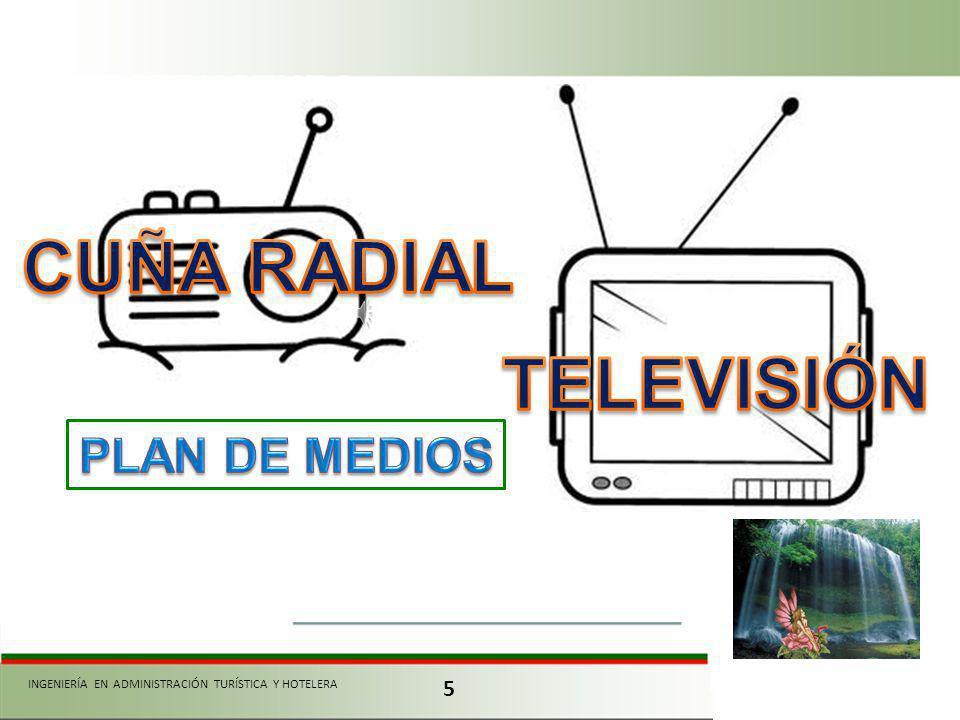 CUÑA RADIAL TELEVISIÓN