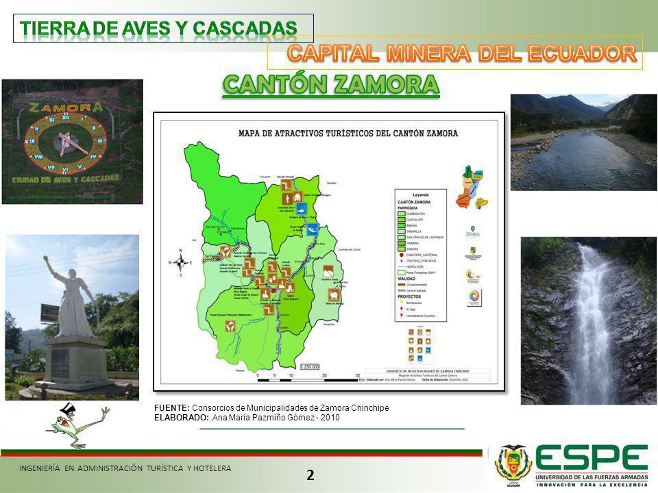 CANTÓN ZAMORA CAPITAL MINERA DEL ECUADOR TIERRA DE AVES Y CASCADAS 2