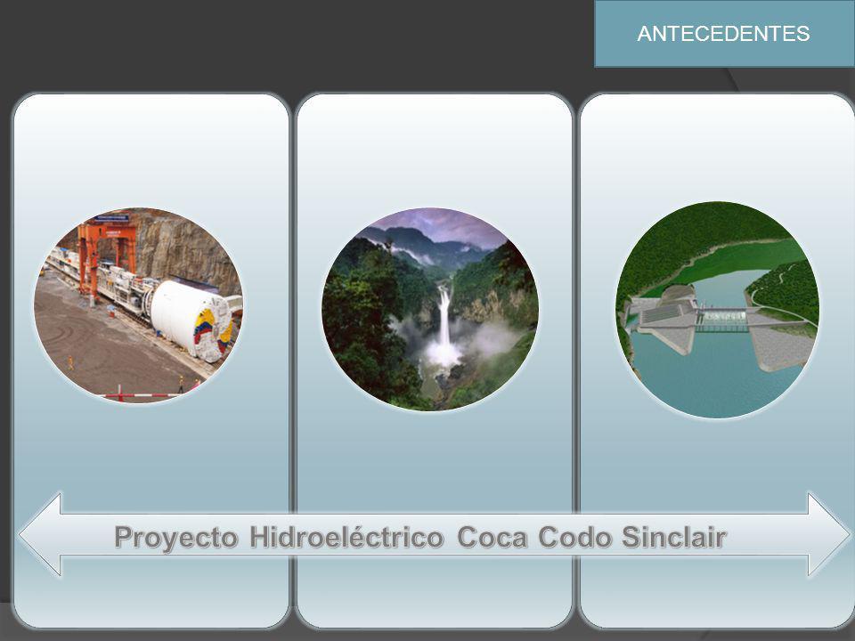Proyecto Hidroeléctrico Coca Codo Sinclair