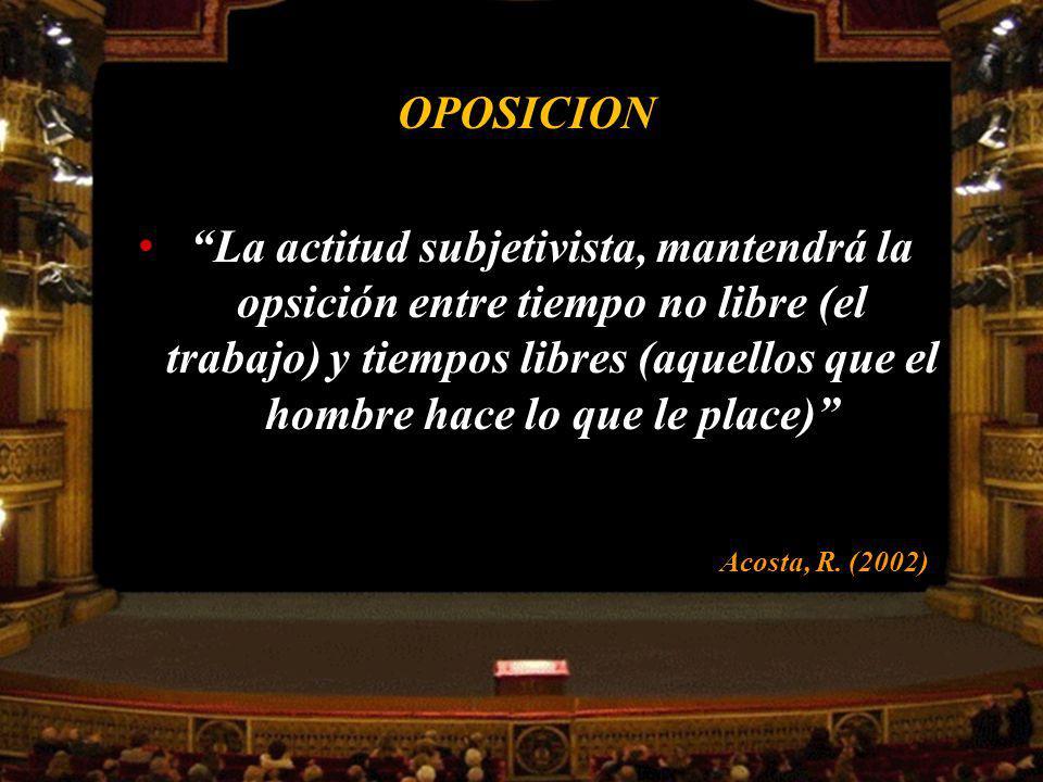 OPOSICION