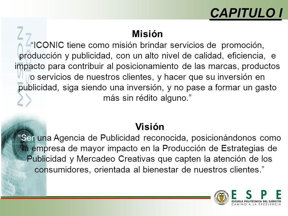 CAPITULO I Misión Visión