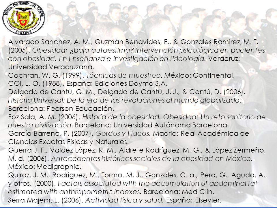 Alvarado Sánchez, A. M. , Guzmán Benavides, E. , & Gonzales Ramirez, M