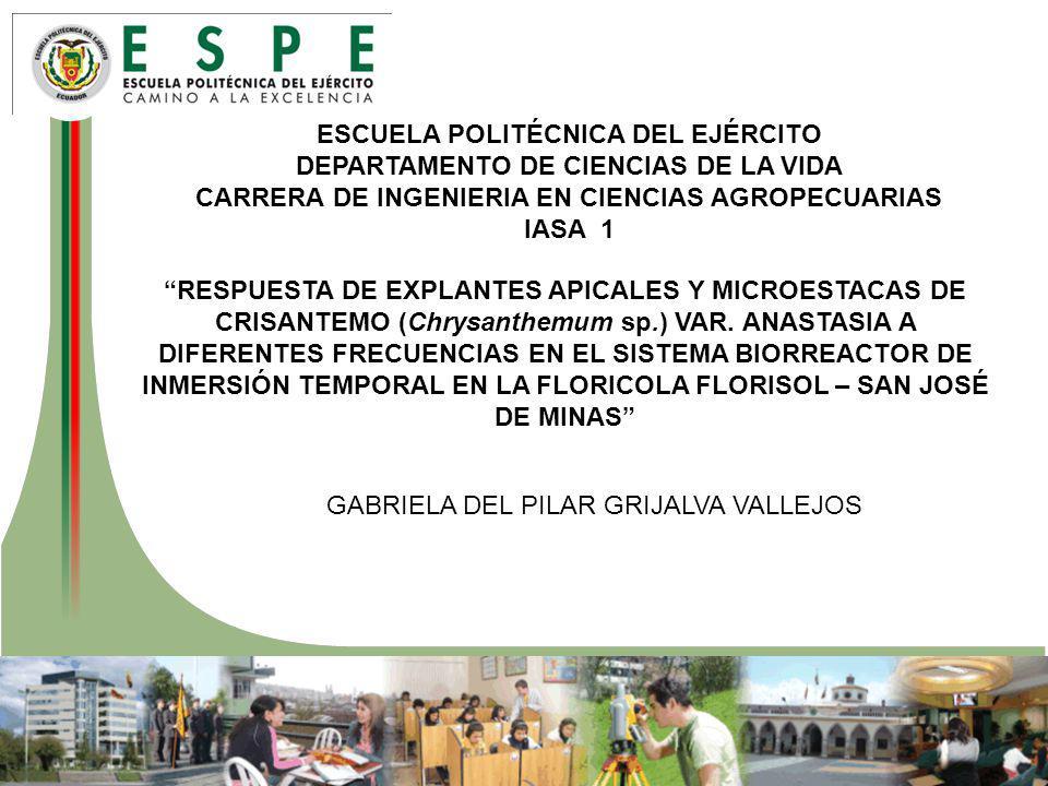 CARRERA DE INGENIERIA EN CIENCIAS AGROPECUARIAS
