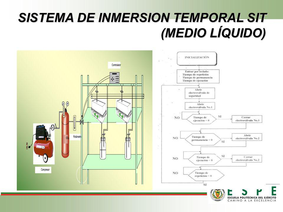 SISTEMA DE INMERSION TEMPORAL SIT (MEDIO LÍQUIDO)
