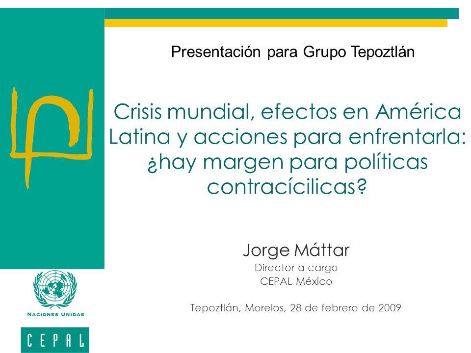 Presentación para Grupo Tepoztlán