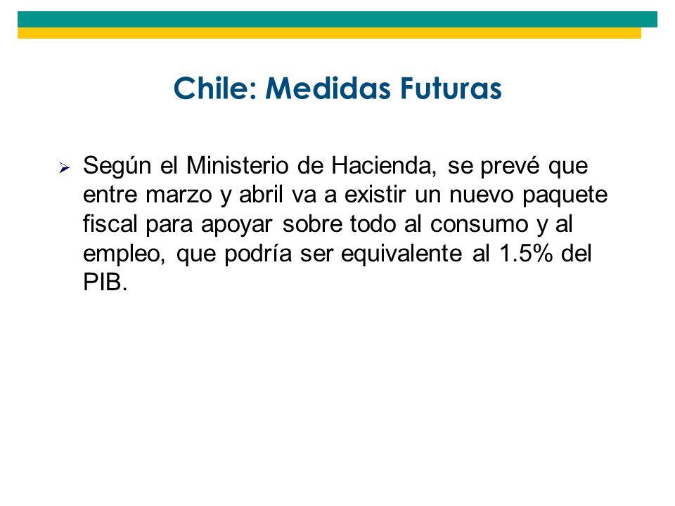 Chile: Medidas Futuras