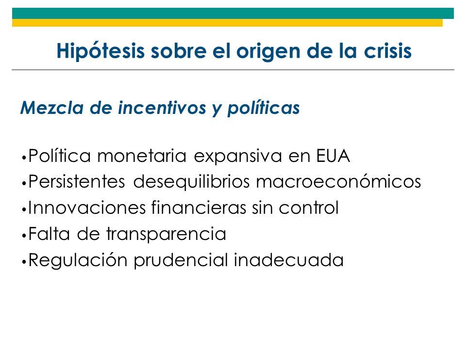 Hipótesis sobre el origen de la crisis