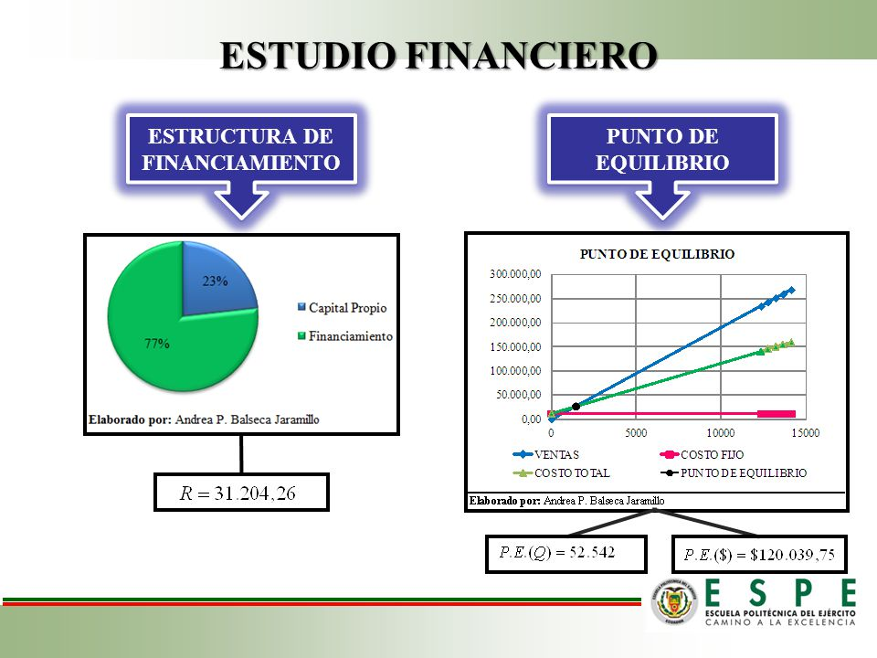 ESTRUCTURA DE FINANCIAMIENTO