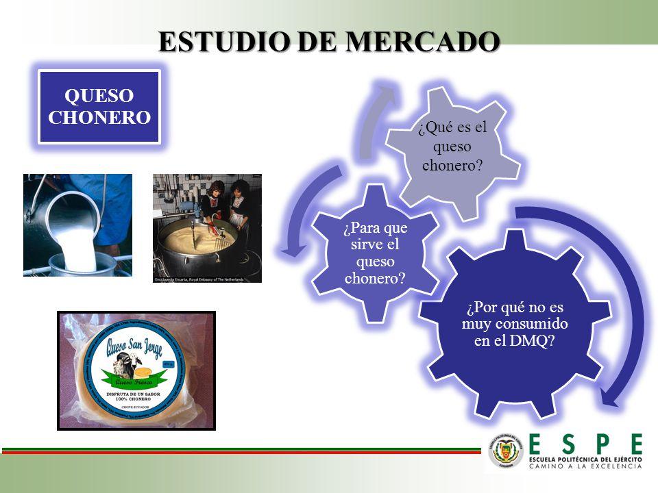 ESTUDIO DE MERCADO QUESO CHONERO