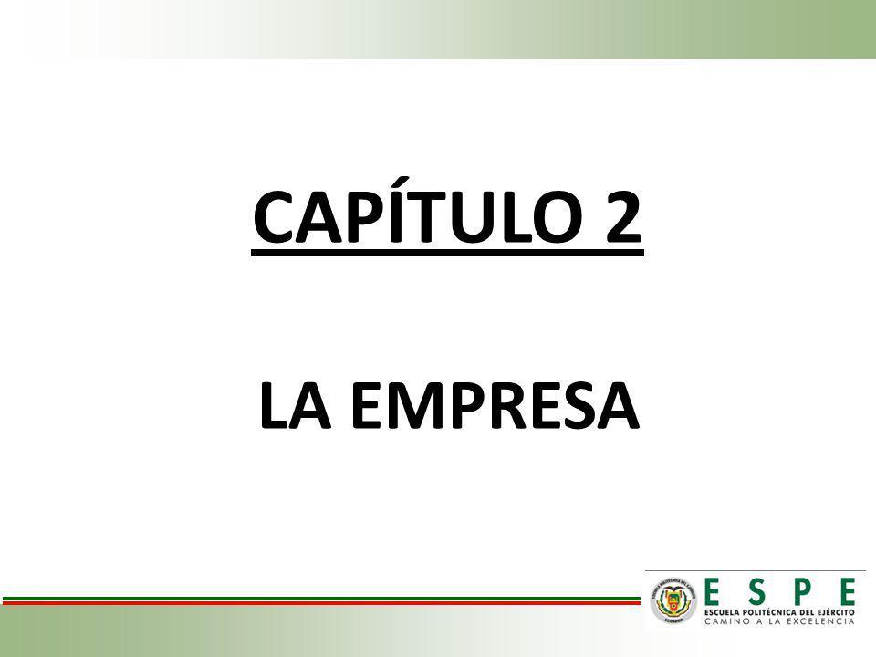 CAPÍTULO 2 LA EMPRESA