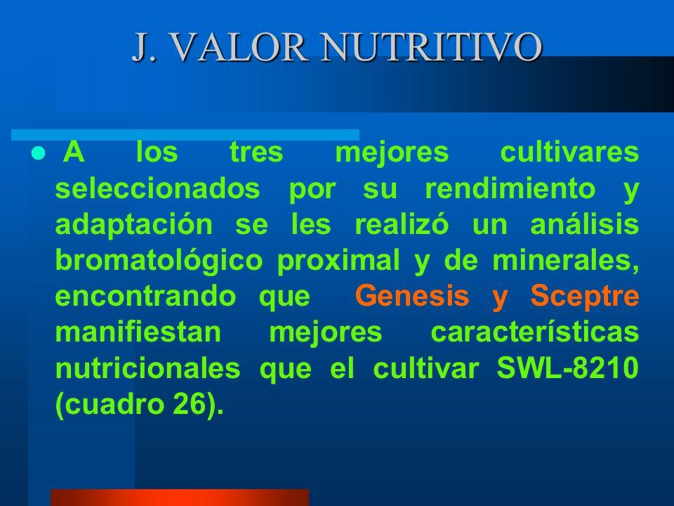 J. VALOR NUTRITIVO