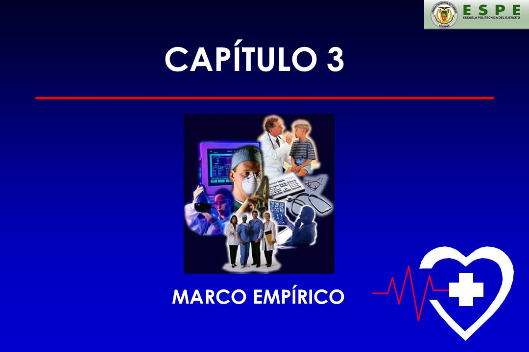 CAPÍTULO 3 MARCO EMPÍRICO