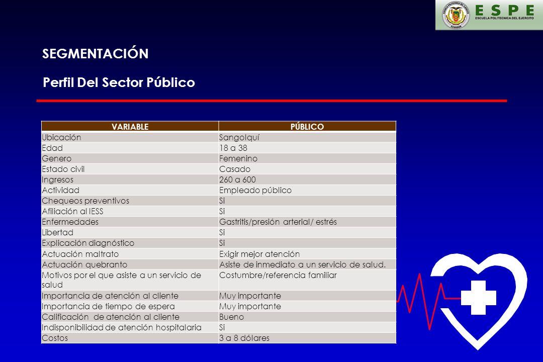 Perfil Del Sector Público