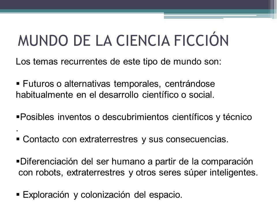 MUNDO DE LA CIENCIA FICCIÓN