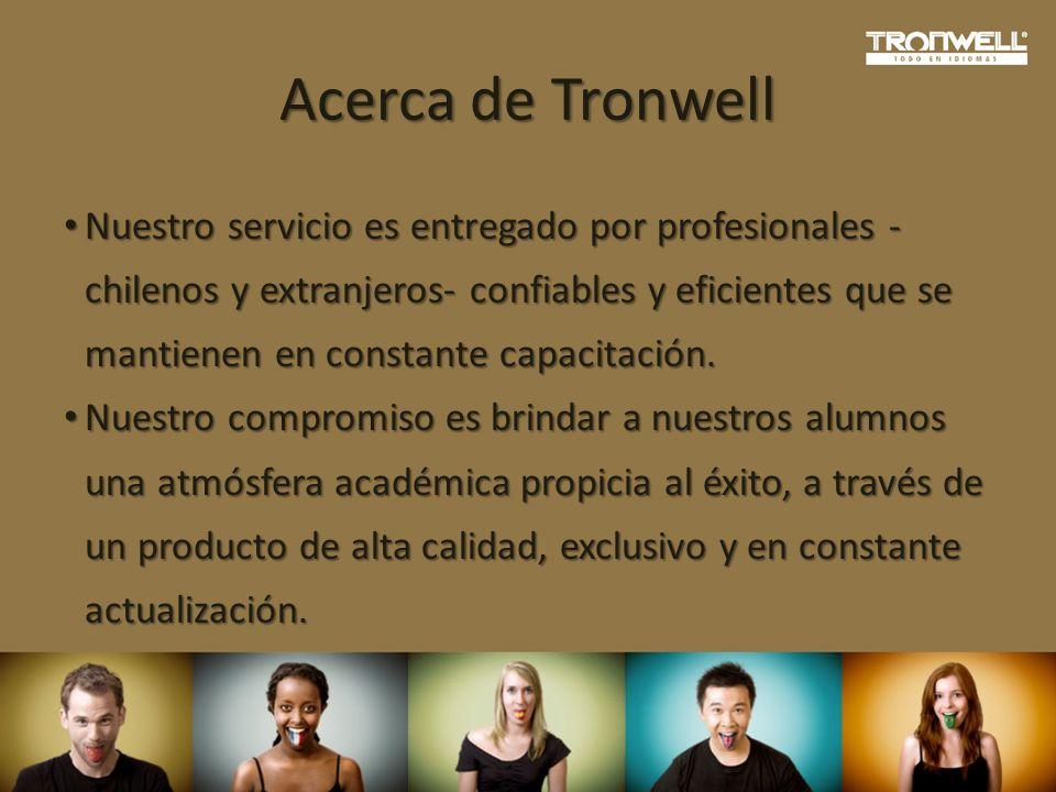 Acerca de Tronwell