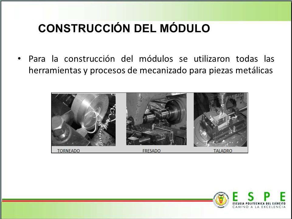 CONSTRUCCIÓN DEL MÓDULO