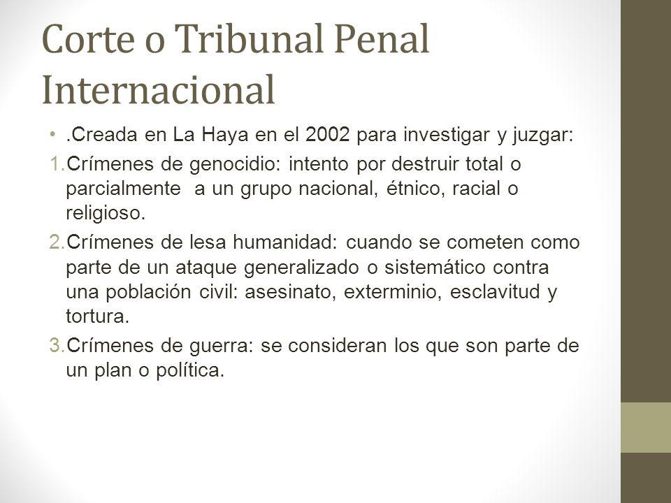 Corte o Tribunal Penal Internacional