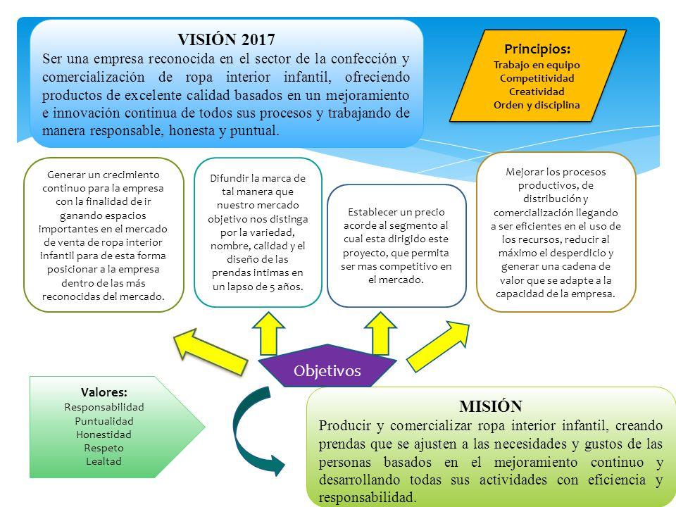 VISIÓN 2017 Objetivos MISIÓN