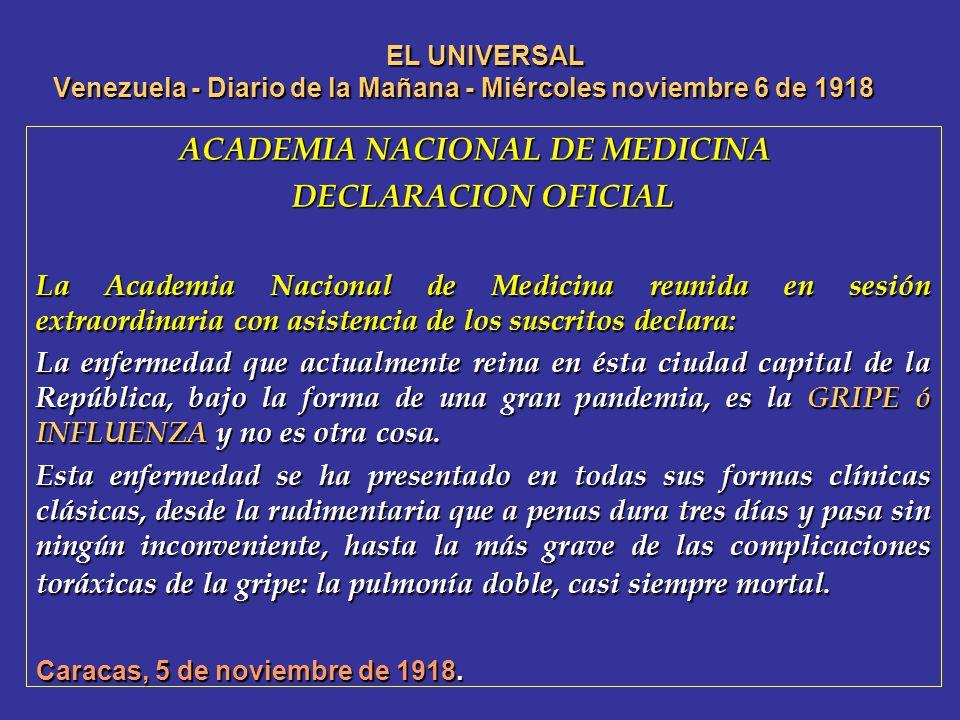 ACADEMIA NACIONAL DE MEDICINA