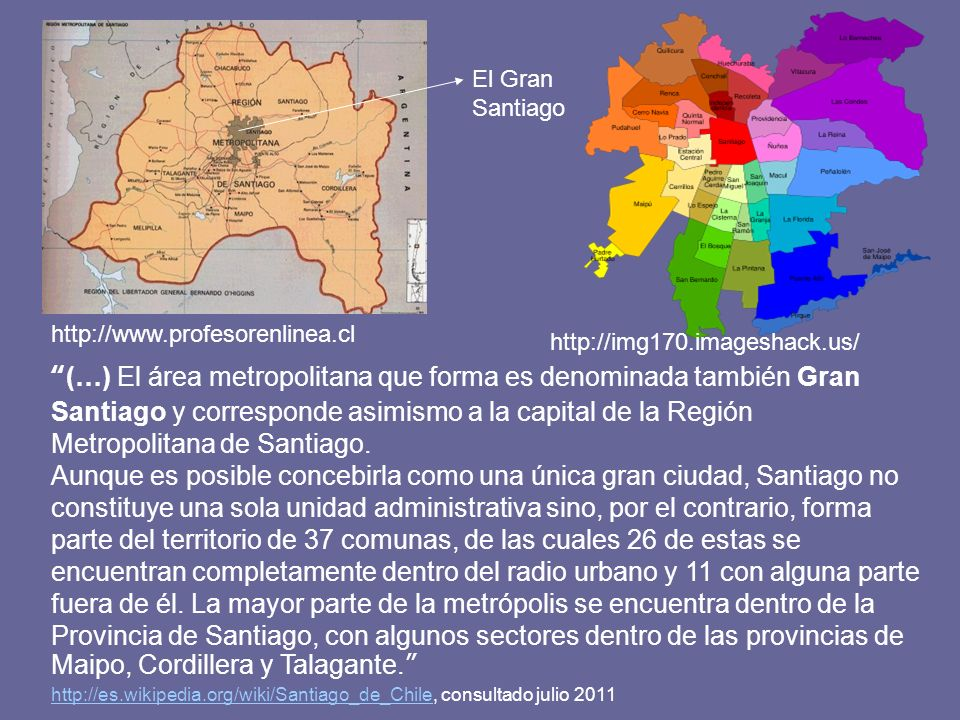 El Gran Santiago http://www.profesorenlinea.cl. http://img170.imageshack.us/