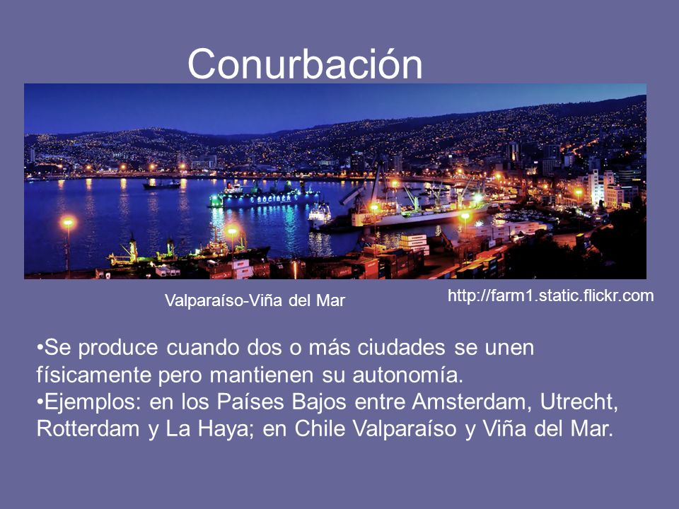 Conurbación http://farm1.static.flickr.com. Valparaíso-Viña del Mar.