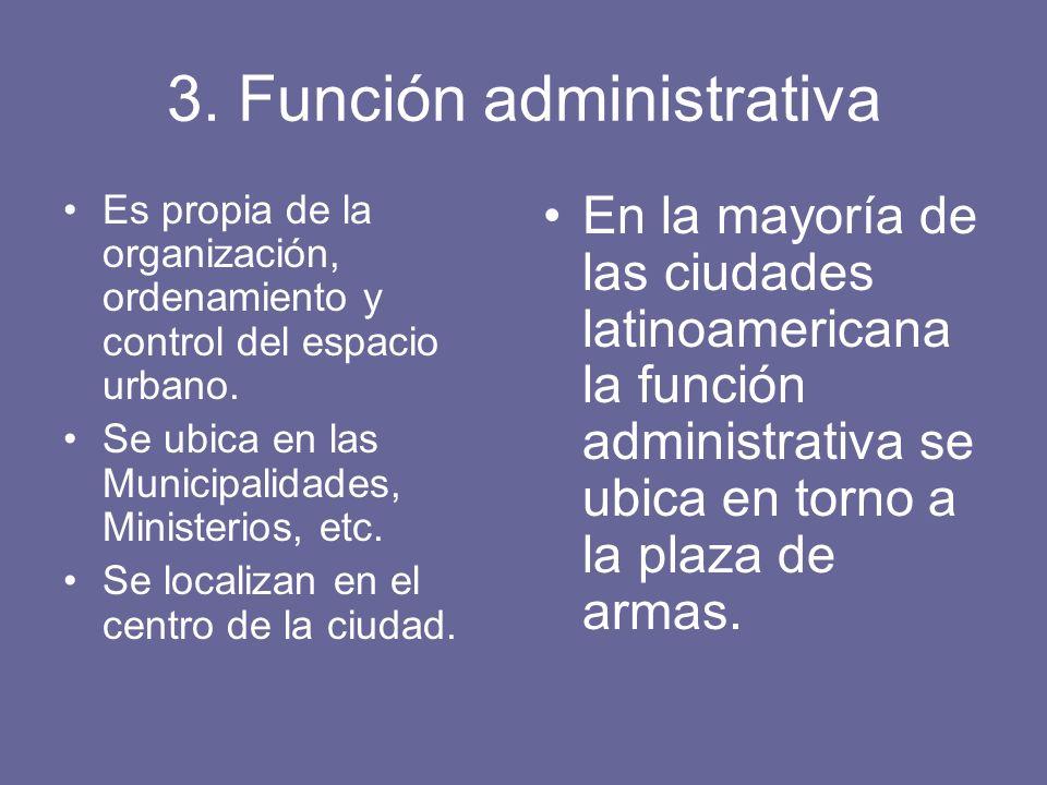 3. Función administrativa