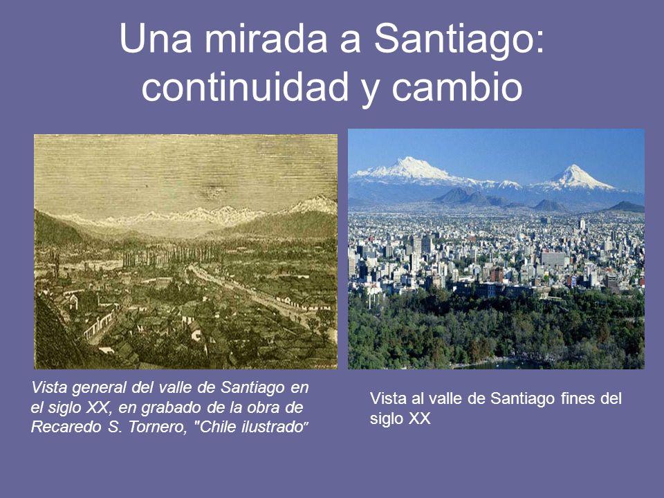 Una mirada a Santiago: continuidad y cambio