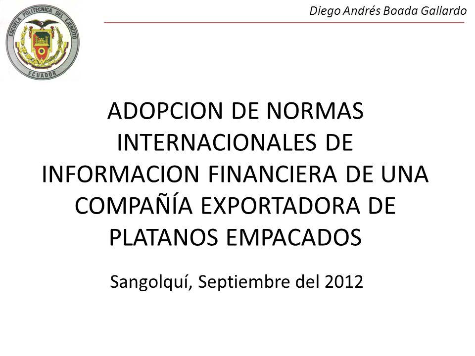 Diego Andrés Boada Gallardo Sangolquí, Septiembre del 2012