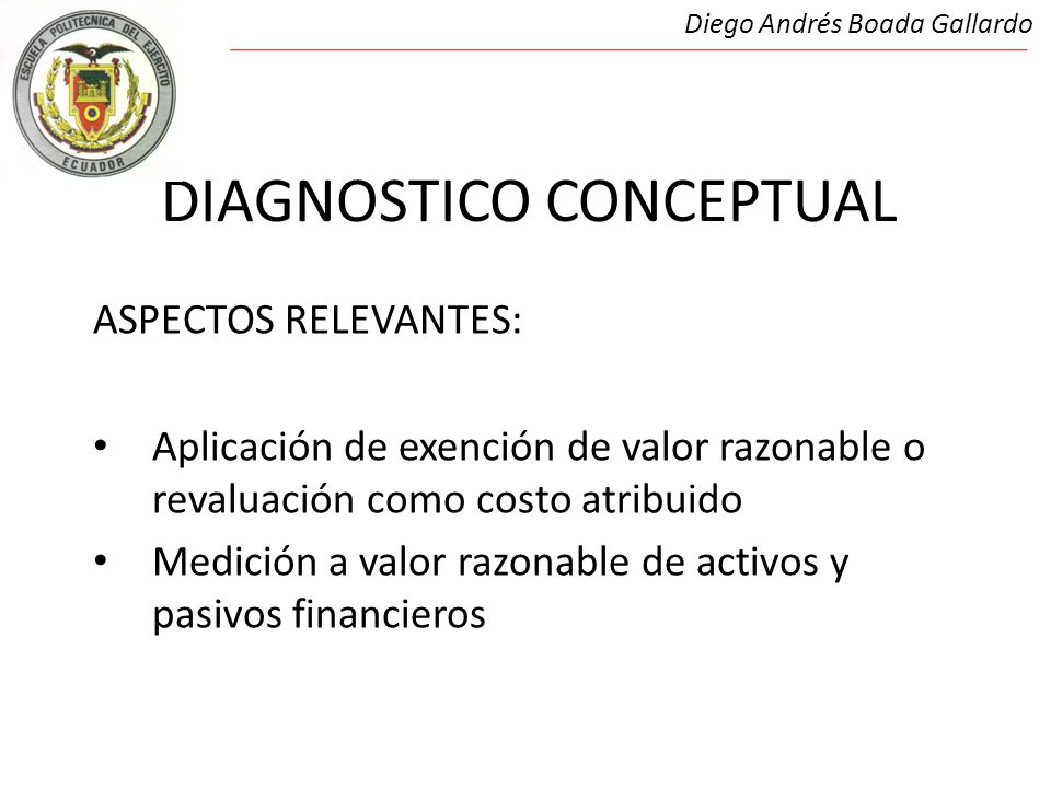 DIAGNOSTICO CONCEPTUAL