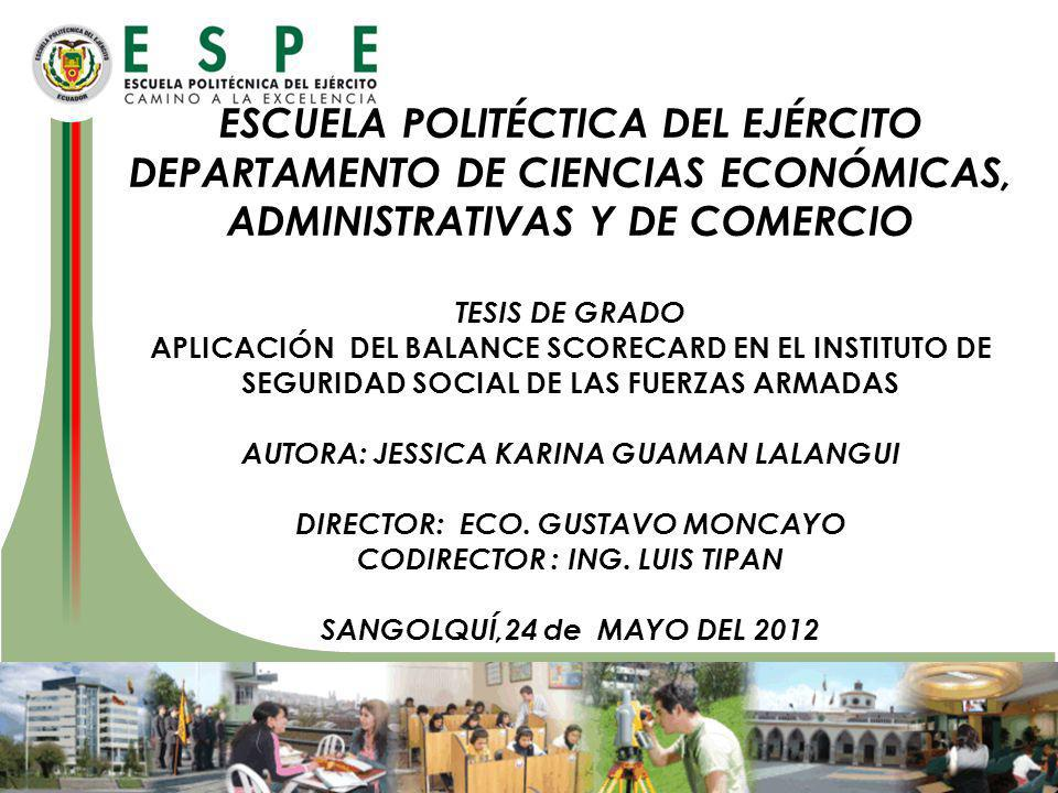 DEPARTAMENTO DE CIENCIAS ECONÓMICAS, ADMINISTRATIVAS Y DE COMERCIO