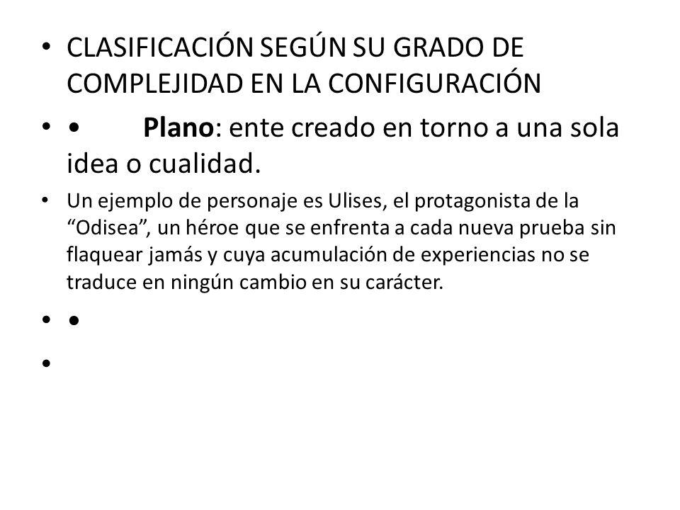 CLASIFICACIÓN SEGÚN SU GRADO DE COMPLEJIDAD EN LA CONFIGURACIÓN