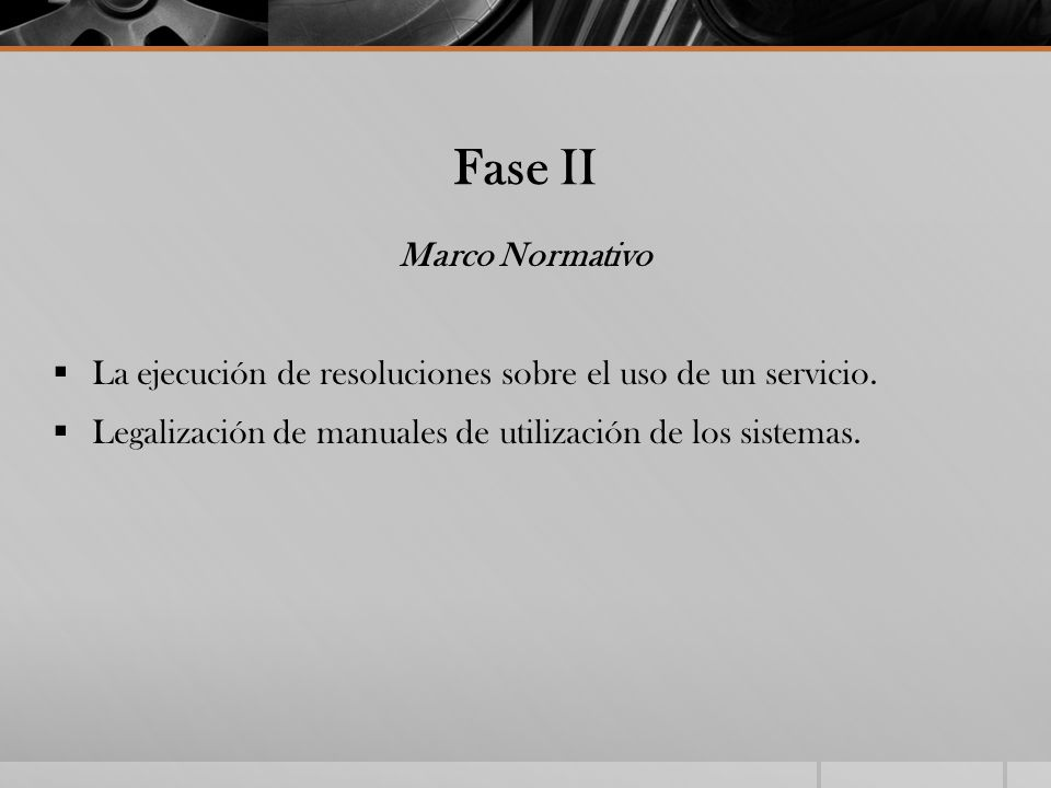 Fase II Marco Normativo